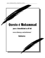 Questo é Mohammad