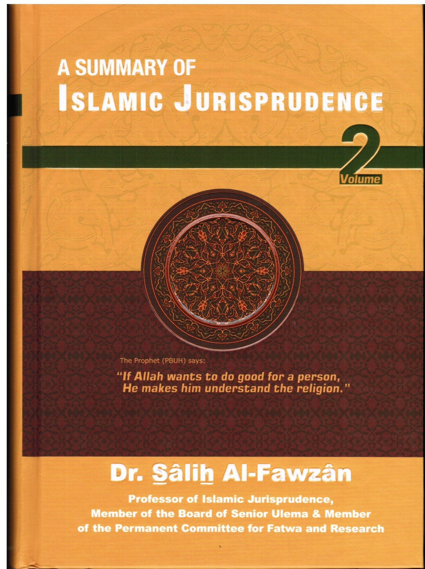 A Summary of Islamic Jurisprudence-Volume 2