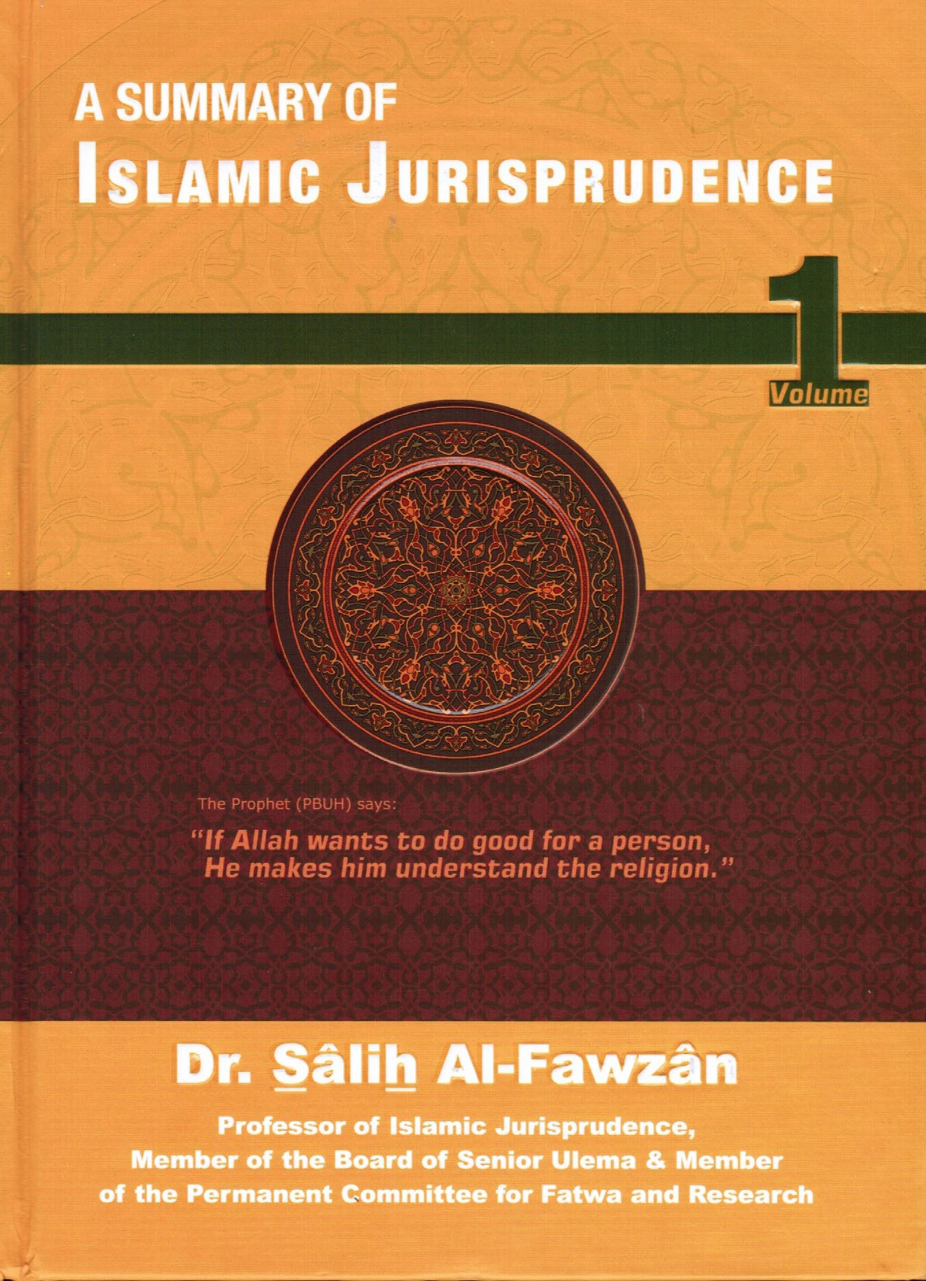 A Summary of Islamic Jurisprudence-Volume1