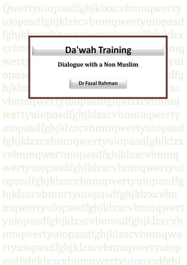 Dawah Training Manual