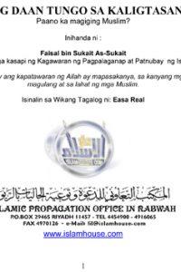 DAAN TUNGO SA KALIGTASAN Paano ka magiging Muslim?