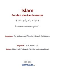 Islam Pondasi dan Landasannya