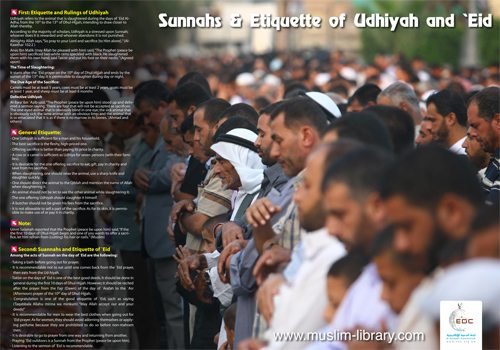 Sunnahs and Etiquette of Udhiya and Eid