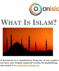 What Is Islam? A Brief Introduction