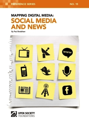 Book Cover: Mapping Digital Media: Social Media and News