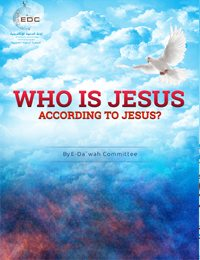 Book cover: Who is Jesus according to Jesus