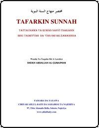 TAFARKIN SUNNAH