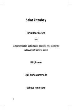 Salat Kitaabay