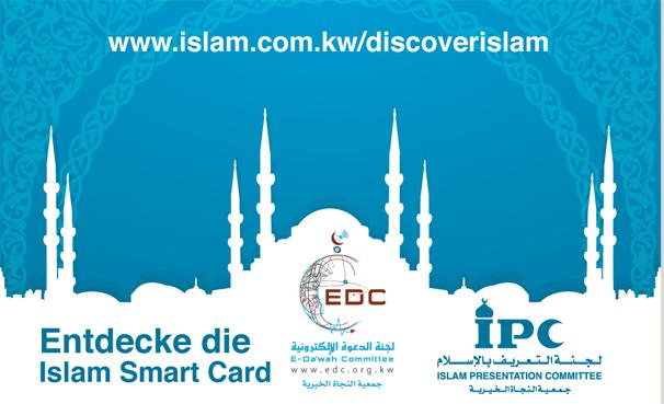 Entdecke die Islam Smart Cardel Islam (German)