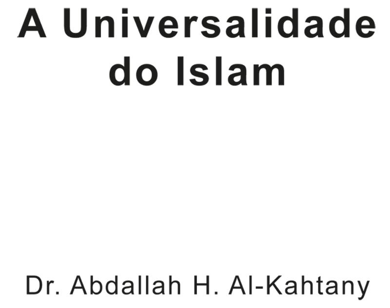 A Universalidade do Islam
