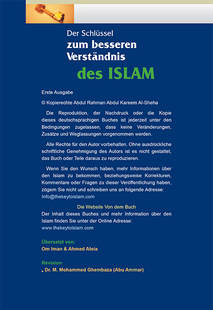 Der Schlüssel zum Verständnis des Islam