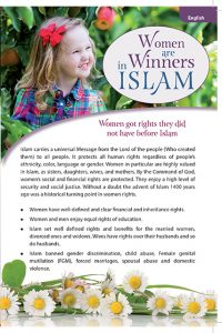 Women Are Winners in Islam