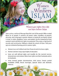 Women Are Winners in Islam