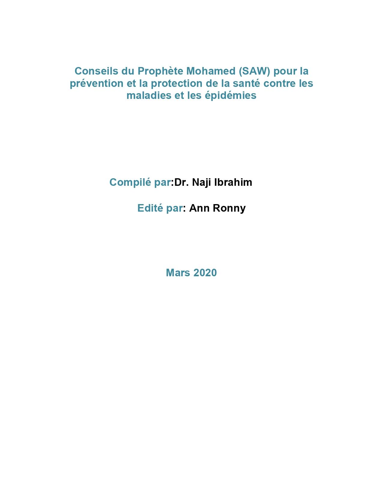 Conseils du Prophète Mohamed (SAW)