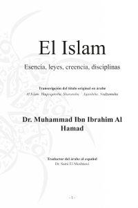 El Islam Esencia leyes creencia disciplinas