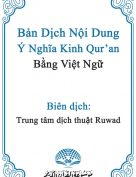 Translation of the Meanings of the Noble Qur'an in Vietnamese